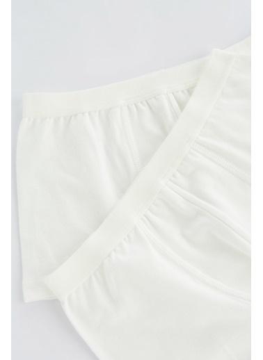 Penti Beyaz Erkekler Organic Cotton 2Li Boxer Beyaz